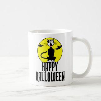 Black Cat & Full Moon Mug
