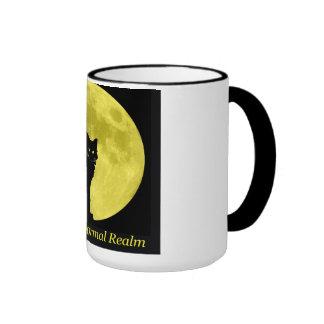 Black Cat & Full Moon | Ringer Mug