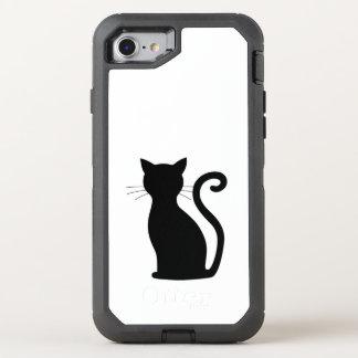 Black Cat Fun OtterBox iPhone 7 Defender Case