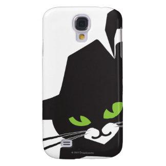 Black Cat Galaxy S4 Case