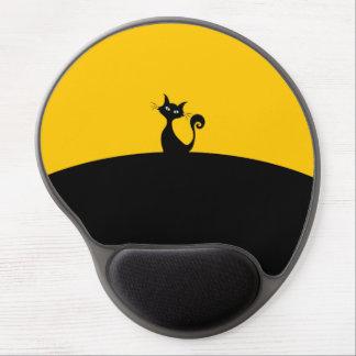 Black Cat Gel Mousepad Gel Mouse Mat