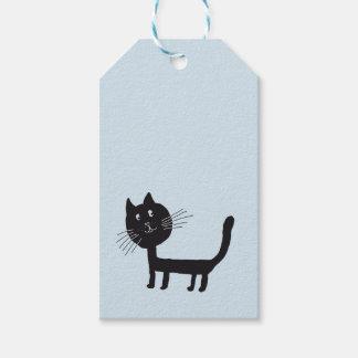 Black Cat Gift Tag