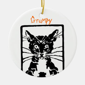 Black Cat Gifts Christmas Ornament