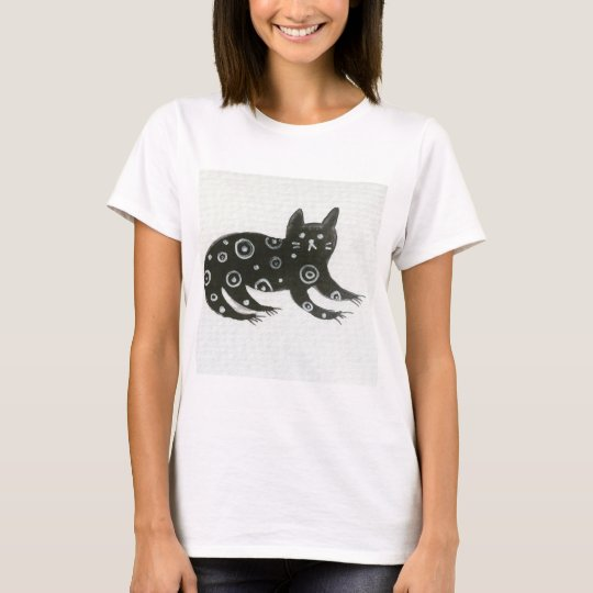 Black Cat/goth/t-shirt T-Shirt