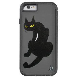 BLACK CAT grey Tough Xtreme iPhone 6 Case