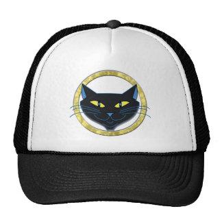 Black Cat Trucker Hat