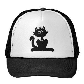 Black Cat Trucker Hats