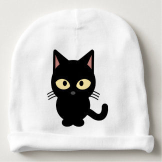Black Cat Hat Baby Beanie