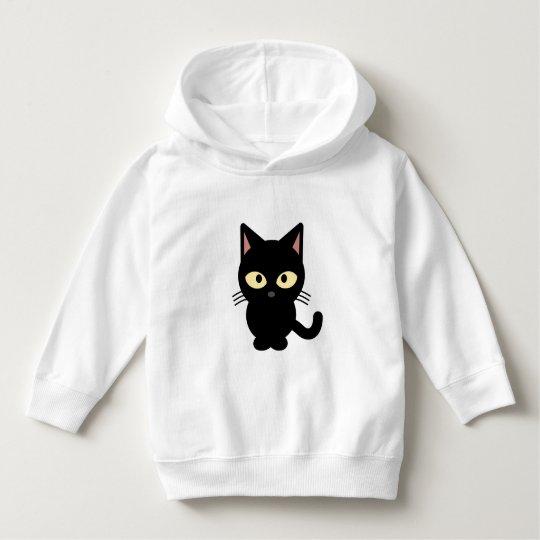 Black Cat Hoodie Sweatshirt