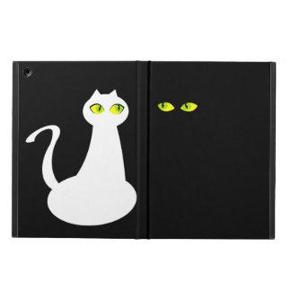 Black Cat In The Dark Negative Space iPad Air iPad Air Case