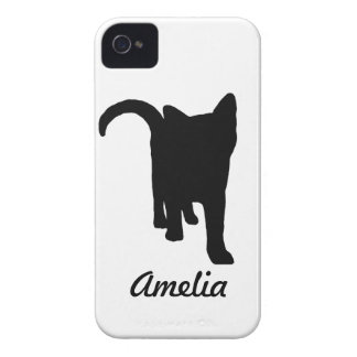 Black Cat iPhone 4 Cover
