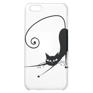 Black Cat iPhone 5C Case