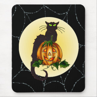 BLACK CAT JACK by SHARON SHARPE Mouse Pad