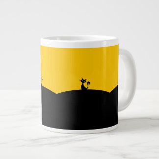 Black Cat Jumbo Mug