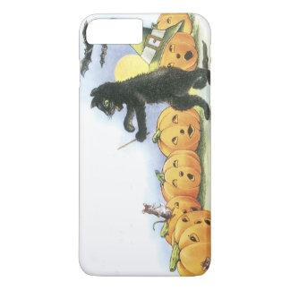 Black Cat Leading Jack O' Lantern Halloween Choir iPhone 8 Plus/7 Plus Case