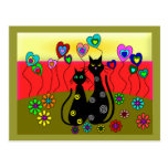 Black Cat Lovers Art Gifts