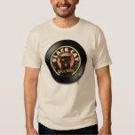 Black Cat LP Art Deco T Shirts