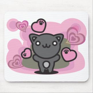 Black_Cat Mouse Pads