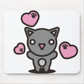 Black_Cat Mouse Pad