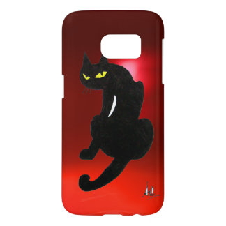BLACK CAT NINJA Red Ruby