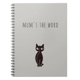 Black Cat Notebook ver.1