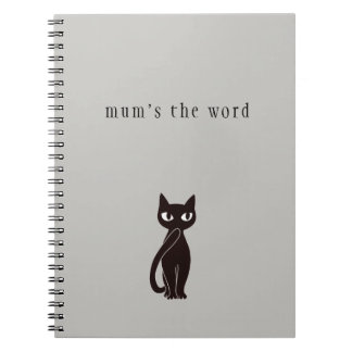 Black Cat Notebook ver.2