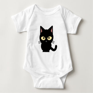 Black Cat outfit for infants Baby Bodysuit