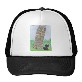 BLACK CAT PISA CAP