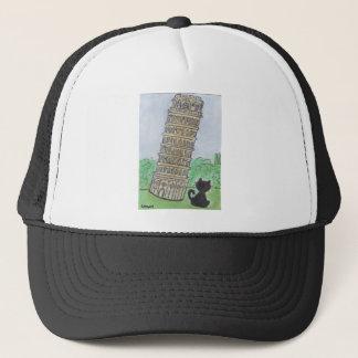 BLACK CAT PISA TRUCKER HAT