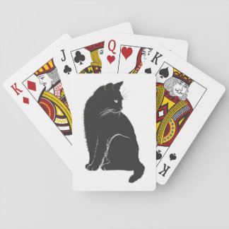 Black Cat Playing Cards