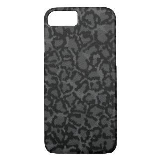 Black Cat Print iPhone 7 Case