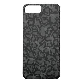 Black Cat Print iPhone 7 Plus Case
