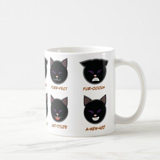 Black Cat Punny Halloween Mug