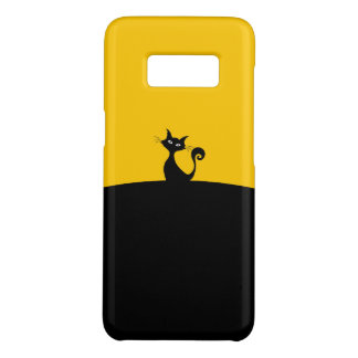 Black Cat Samsung Galaxy S8, Barely Phone Case