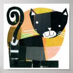 Black Cat Spooks Posters