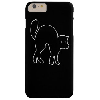 Black Cat spooky image Barely There iPhone 6 Plus Case