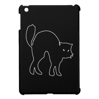 Black Cat spooky image iPad Mini Case