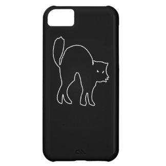 Black Cat spooky image iPhone 5C Case