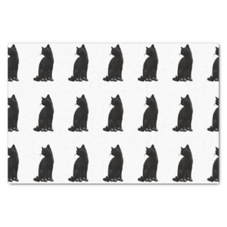 Black Cat Tissue Paper