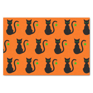 Black Cat Tissue Paper