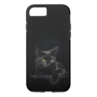 Black Cat Tough iPhone 7 Case