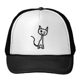 Black Cat Winking Hat