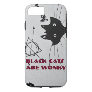 Black Cats Are Wonky Phonecase iPhone 7 Case