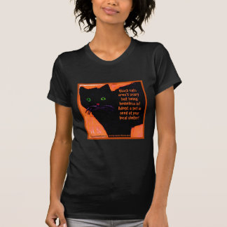 Black Cats Aren't Scary T-Shirt