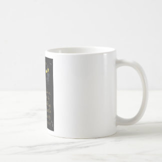 Black cats coffee mugs