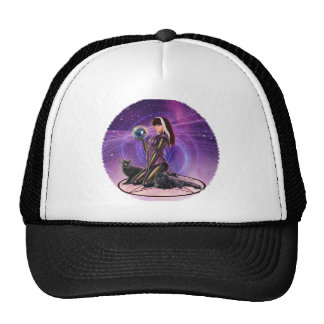 """Black Cats Divination"" Hats"