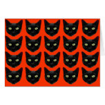 Black Cats Greeting Cards