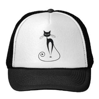 Black Cats Mesh Hat