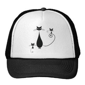 Black Cats Hats