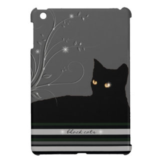 black cats, kitty cover for the iPad mini